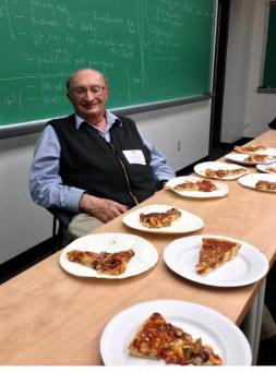 Professor Weiss: Homemade Pizza for Math 450