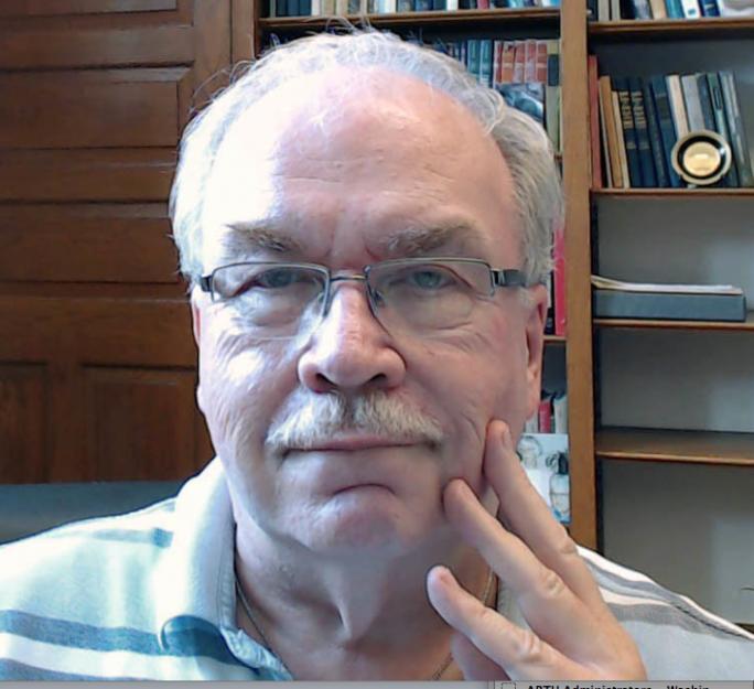 Portrait of Ron Freiwald