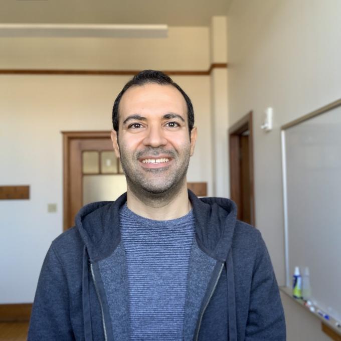 Headshot of Majid Noroozi